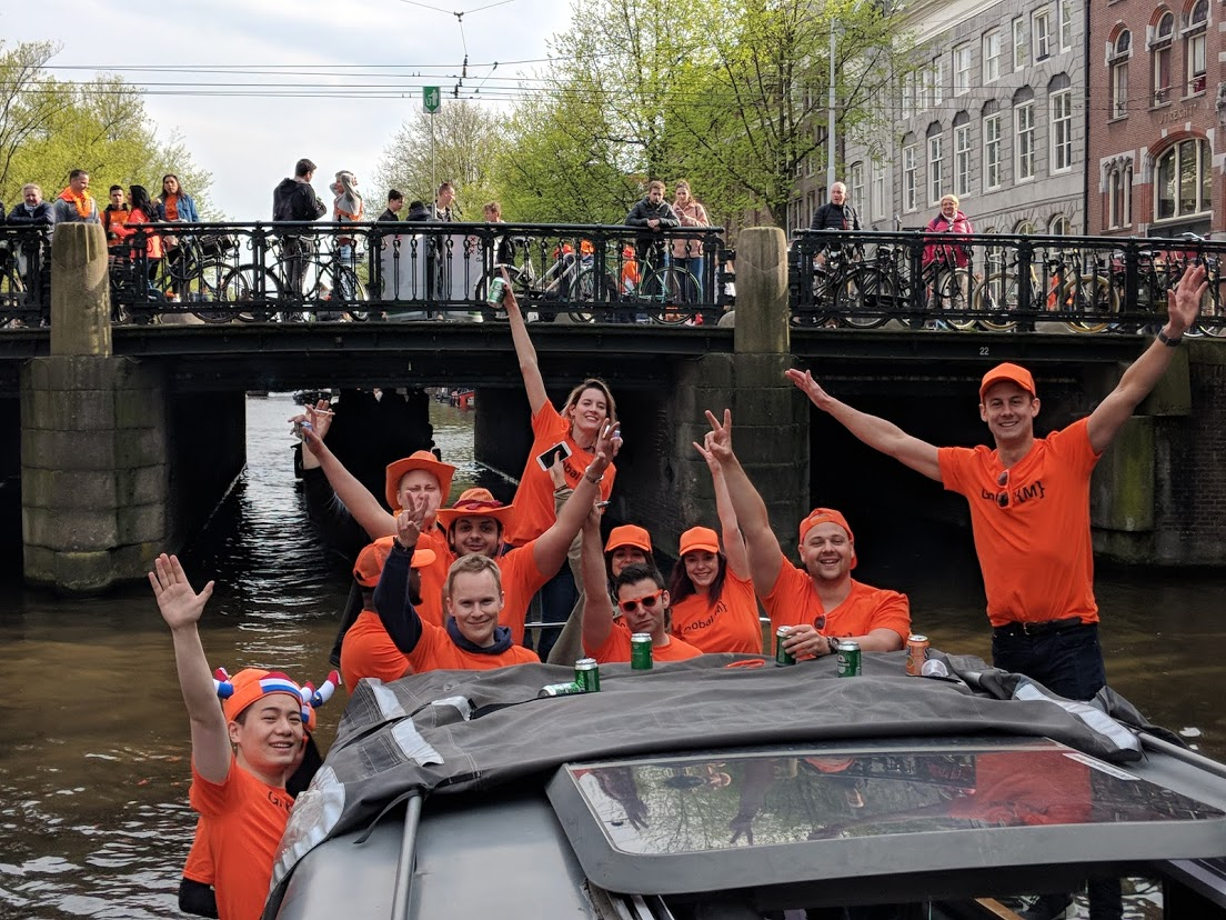 GLOBAL {M} TRAVELS TO AMSTERDAM FOR KING'S DAY